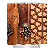Firuz Aga Mosque Door 01 Shower Curtain