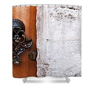 Firuz Aga Mosque Door 10 Shower Curtain