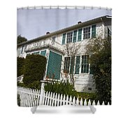 Fischer-hanlon House Benicia California Shower Curtain