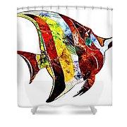 Fish 505-11-13 Marucii Shower Curtain