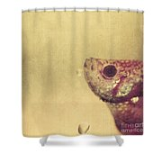 Fish Can Be Sad Too Shower Curtain