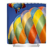 Fish In The Sky Shower Curtain