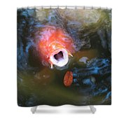 Fish Mouth Shower Curtain