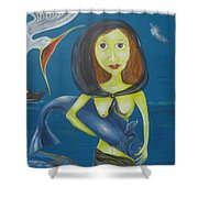 Fish Sands Shower Curtain