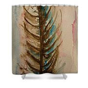 Fishbone Or Feather Shower Curtain