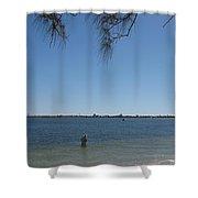 Fisher - Sanibel Island Shower Curtain