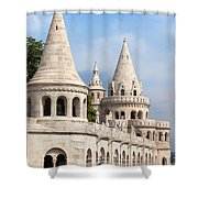 Fisherman Bastion In Budapest Shower Curtain