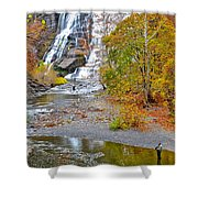 Fisherman One With Nature Shower Curtain