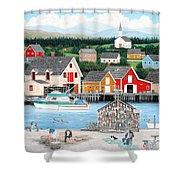 Fisherman's Cove Shower Curtain