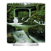 Fisherman's Creek Shower Curtain