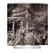 Fisherman's Feast North End Of Boston Shower Curtain by Joann Vitali