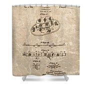 Fisherman's Hat Patent Shower Curtain