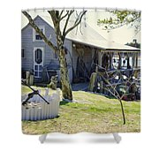Fisherman's House 3 Shower Curtain