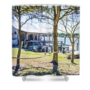 Fisherman's House 4 Shower Curtain