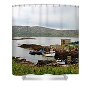Fishermans Landing Shower Curtain