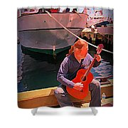 Fishermans Song Shower Curtain