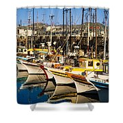 Fishermans Wharf San Francisco Shower Curtain
