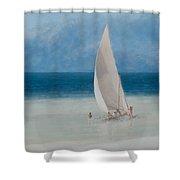 Fishermen Kilifi Shower Curtain