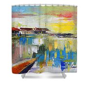 Fishers Haven Shower Curtain