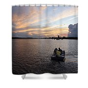 Fishers Of The Night Shower Curtain