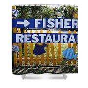 Fishery Shower Curtain