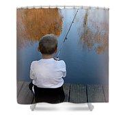 Fishin' Shower Curtain