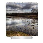 Fishing And Hunting Spot Shower Curtain