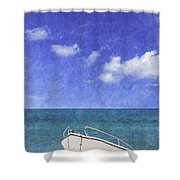 Fishing Boat Algarve Portugal Shower Curtain