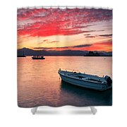 fishing boats 'II Shower Curtain