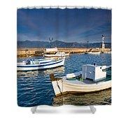 fishing boats 'XIII Shower Curtain