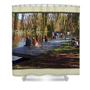 Fishing Contest - Easton Waterfowl Festival Shower Curtain