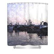 Fishing Fleet Ffwc Shower Curtain