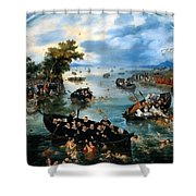 Fishing For Souls Shower Curtain