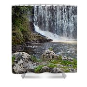 Fishing Hole Shower Curtain