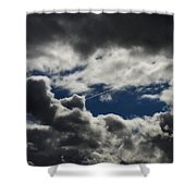 Fishing In The Sky Shower Curtain