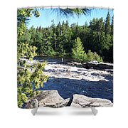 Fishing On The West Branch Shower Curtain