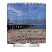 Fishing Pier 3 Shower Curtain