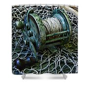 Fishing - That Old Fishing Reel Shower Curtain
