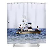 Fishing The Shallows Shower Curtain