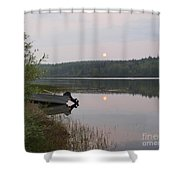 Fishing Tranquility Shower Curtain