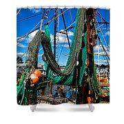 Fishing Vessel Shower Curtain