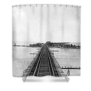 Fishing Village In Key West Shower Curtain