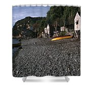 Fishing  Village Shower Curtain