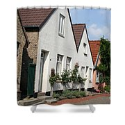 Fishingvillage Holm Shower Curtain