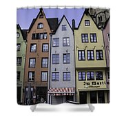 Fishmarket Townhouses 2 Shower Curtain