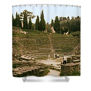 Fisole Theatre Ruins Shower Curtain