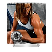 Fitness 28-2 Shower Curtain