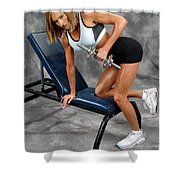 Fitness 30 Shower Curtain
