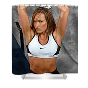 Fitness36-2 Shower Curtain