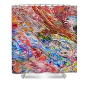 Fitzroy River Shower Curtain